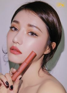 Son kem li 3CE Stylenanda Velvet Lip Tint mau Going Right