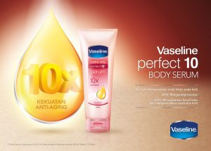 Gioi thieu sua duong the Vaseline 10X Healthy White Perfect Serum