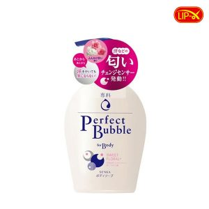 Sua tam Senka Perfect Bubble For Body Sweet Floral+ chinh hang Nhat Ban
