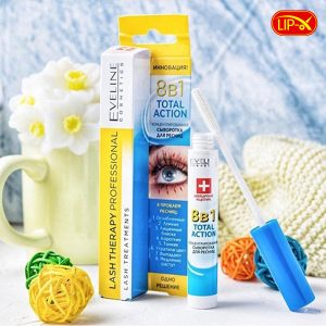Thanh phan cua huyet thanh duong mi Eveline Lash Therapy Professional 8B1 Total Action chinh hang Nga