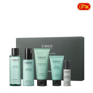 Bo duong da cho nam Innisfree Forest For Men Moisture Skincare Trio Set