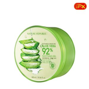 Gel duong da lo hoi Nature Republic Aloe Vera 92 Soothing Gel chinh hang Han Quoc