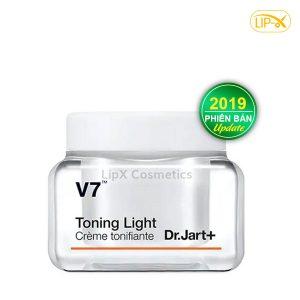 Kem duong trang da Dr.Jart+ V7 Toning Light new 2019