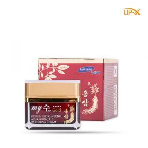 Kem duong trang da Hong Sam Do My Gold Korea Red Ginseng Aqua Wrinkle & Whitening Cream