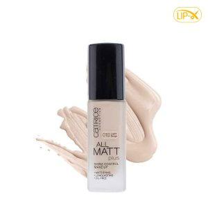 Kem nen Catrice All Matt Plus Shine Control Make Up Lasts Up To 18h