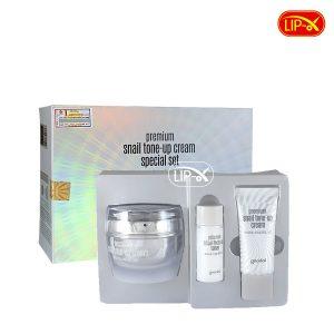 Bo duong trang oc sen Goodal Premium Snail Tone Up Cream Special Set chinh hang Han Quoc