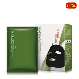 Mat na tri mun Naruko xanh tram tra Tea Tree Shine Control & Blemish Clear Mask chinh hang tai Da Nang