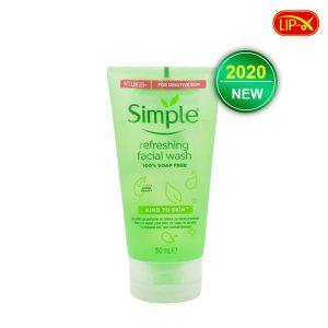 Sua rua mat Simple Kind To Skin Refreshing Facial Wash Gel gia ra tai Da Nang mau 2020