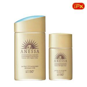 Sua chong nang Anessa Perfect UV Sunscreen Skincare Milk SPF50+PA++++ chinh hang Nhat Ban