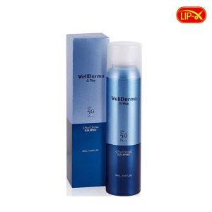Xit chong nang Wellderma G PLus Cooling Sun Spray 180ml Han Quoc
