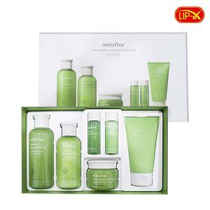 Bo duong da tra xanh Innisfree Green Tea Balancing Skin Care Trio Set EX chinh hang Han Quoc