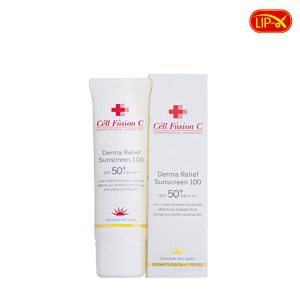 Kem chong nang Cell Fusion C Derma Relief Suncreen 100 Spf50+ PA++++ chinh hang Han Quoc